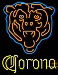 Corona Chicago Bears NFL Neon Sign