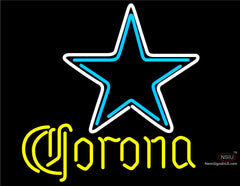 Corona Dallas Cowboys NFL Neon Sign
