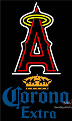 Corona Extra Los Angeles Angels Of Anaheim MLB Neon Sign