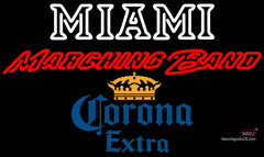 Corona Extra Miami UNIVERSITY Band Board Neon Sign