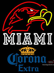 Corona Extra Miami UNIVERSITY Fall Session Neon Sign