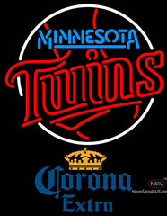 Corona Extra Minnesota Twins MLB Neon Sign