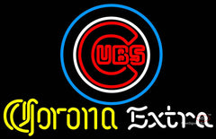 Corona Extra Neon Chicago Cubs MLB Neon Sign