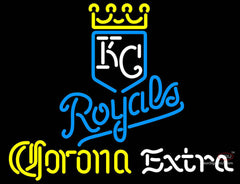 Corona Extra Neon Kansas City Royals MLB Neon Signs