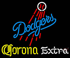 Corona Extra Neon Los Angeles Dodgers MLB Neon Sign