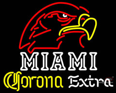 Corona Extra Neon Miami UNIVERSITY Fall Session Neon Sign
