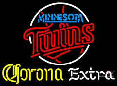 Corona Extra Neon Minnesota Twins MLB Neon Sign  7