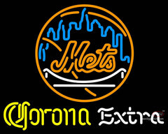 Corona Extra Neon New York Mets MLB Neon Sign  7