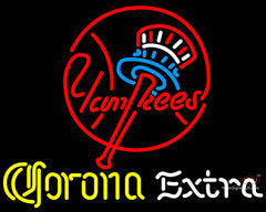 Corona Extra Neon New York Yankees MLB Neon Sign