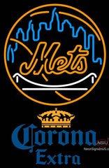 Corona Extra New York Mets MLB Neon Sign