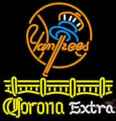 Corona Extra New York Yankees Neon Sign