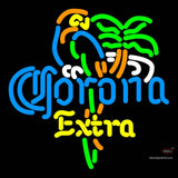 Corona Extra Parrot Palm Tree Neon Beer Sign x