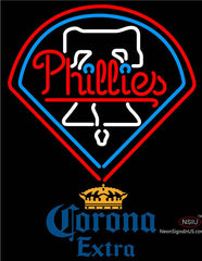 Corona Extra Philadelphia Phillies MLB Neon Sign
