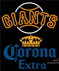 Corona Extra San Francisco Giants MLB Neon Sign