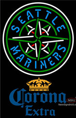 Corona Extra Seattle Mariners MLB Neon Sign
