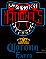 Corona Extra Washington Nationals MLB Neon Sign