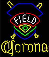 Corona Field Colorado Rockies Neon Beer Sign