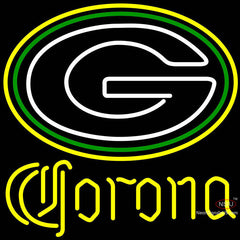 Corona Green Bay Packers NFL Neon Sign x