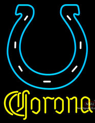Corona Indianapolis Colts NFL Neon Sign