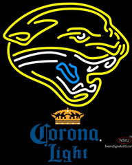 Corona Light Jacksonville Jaguars NFL Neon Sign
