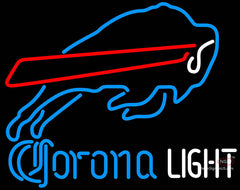 Corona Light Neon Buffalo Bills NFL Neon Sign