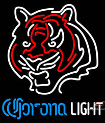 Corona Light Neon Cincinnati Bengals NFL Neon Sign