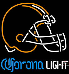 Corona Light Neon Cleveland Browns NFL Neon Sign