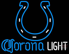 Corona Light Neon Indianapolis Colts NFL Neon Sign