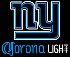 Corona Light Neon New York Giants NFL Neon Sign