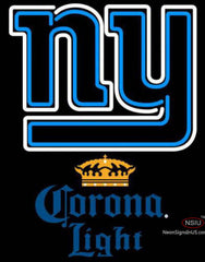 Corona Light New York Giants NFL Neon Sign