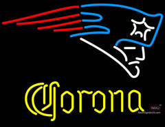 Corona New England Patriots NFL Neon Sign