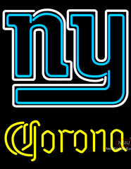 Corona New York Giants NFL Neon Sign