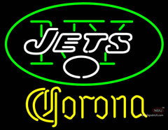 Corona New York Jets NFL Neon Sign