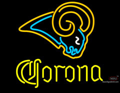 Corona St. Louis Rams NFL Neon Sign