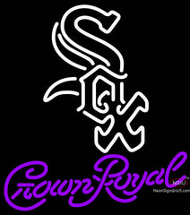 Crown Royal Chicago White Sox MLB Neon Sign