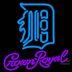 Crown Royal Detroit Tigers MLB Neon Sign   x