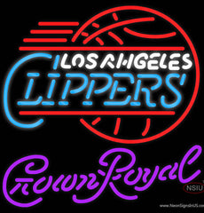 Crown Royal Los Angeles Clippers NBA Real Neon Glass Tube Neon Sign