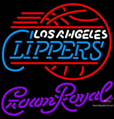 Crown Royal Los Angeles Clippers NBA Neon Sign