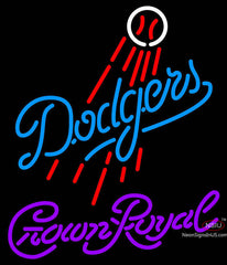 Crown Royal Los Angeles Dodgers MLB Neon Sign  7