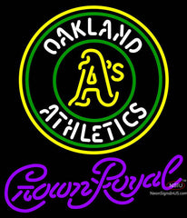 Crown Royal Oakland As MLB Neon Sign