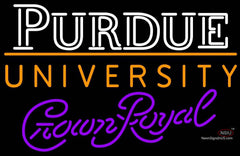 Crown Royal Purdue UNIVERSITY Ncaa Logo Neon Sign