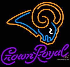 Crown Royal St Louis Rams NFL Neon Sign   x