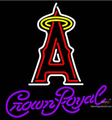 Crown Royal Anaheim Angels MLB Neon Sign