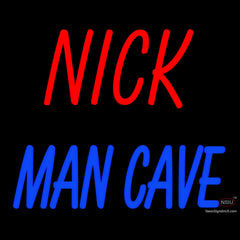 Custom Nick Man Cave Neon Sign