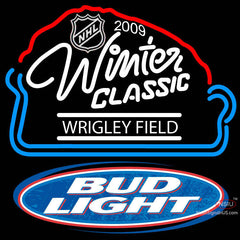 Bud Light  NHL Winter Classic Neon Sign