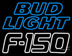 Bud Light Logo with Ford  Neon Sign