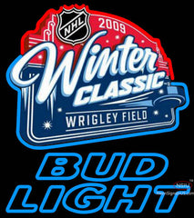Bud Light Neon  NHL Winter Classic Neon Sign
