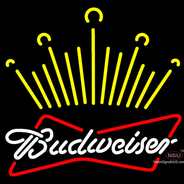Budweiser King Of Beer It Up Neon Beer Sign