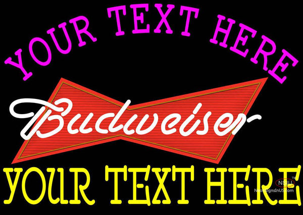 Custom Budweiser Neon Beer Sign