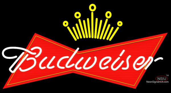 Budweiser Crown Neon Sign